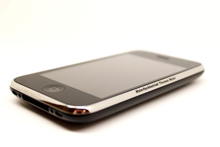 Gravur iPhone