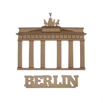 Schwibbogen Berlin, Holz