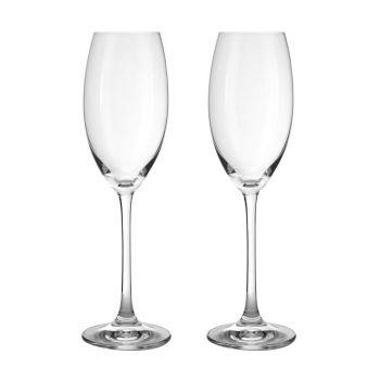 Champagnergläser mit Gravur, NACHTMANN