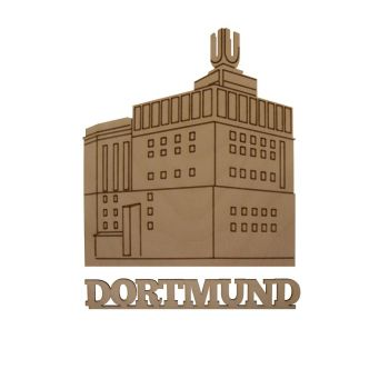 Schwibbogen Dortmund, Holz