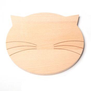Frühstücksbrettchen Katze