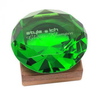 Glasdiamant mit Gravur