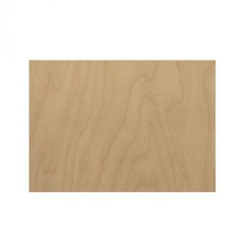 Holzschild mit Gravur Birke Multiplex