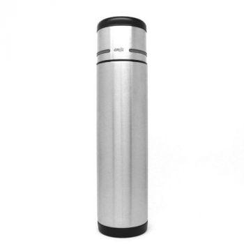 Isolier-Trinkflasche mit Gravur, Edelstahl