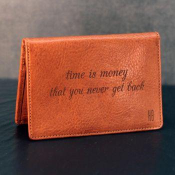 Kreditkartenetui mit Gravur gestalten