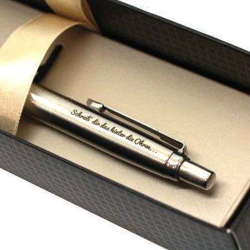 Kugelschreiber mit Lasergravur Parker Jotter