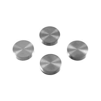 Magnete mit Gravur, Edelstahl, Kühlschrank