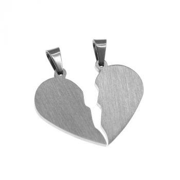 Partneranhänger Herzform