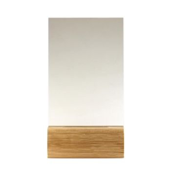 Pokal aus Holz mit Acryl