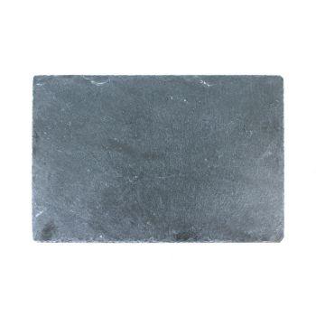 Schieferplatte mit Gravur, A4
