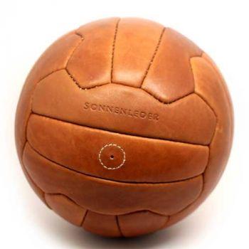 Sonnenleder Fußball mit Gravur