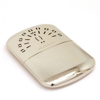 Taschenwärmer mit Gravur, PEACOCK