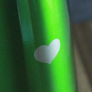 Thermoskanne grün Gravur