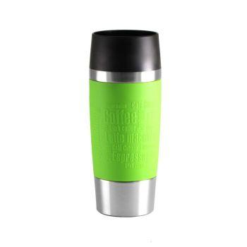 Travel Mug mit Gravur, grün
