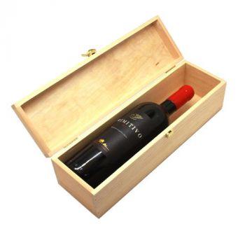 Weinkiste mit Deckel