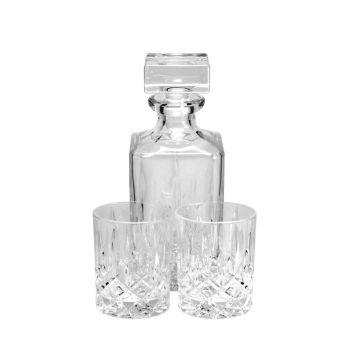Whisky Karaffe Set mit Gravur, Nachtmann