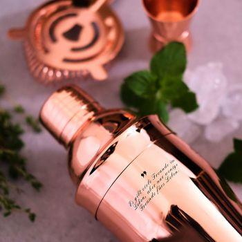 cocktail geschenkset cocktail shaker mit gravur