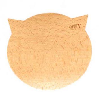 Frühstücksbrettchen mit Gravur, BREAD CAT