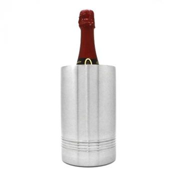 Flaschenkühler mit Gravur, Edelstahl, EMSA