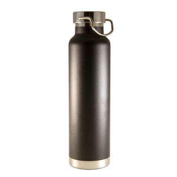Isolierflasche mit Gravur, Edelstahl, 0,65 L
