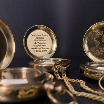 personalisierter kompass geschenk taufe