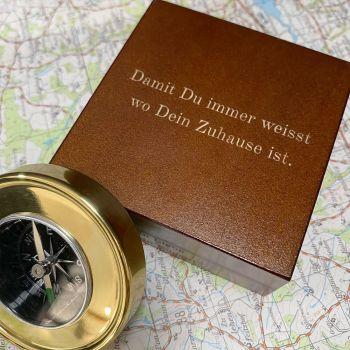 kompass gravur ideen