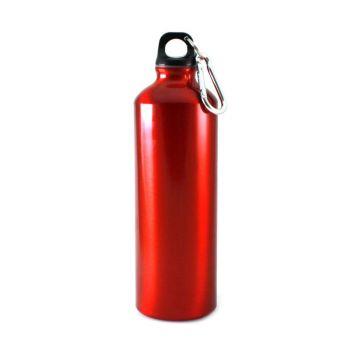 Metall-Trinkflasche mit Gravur, 0,75 L
