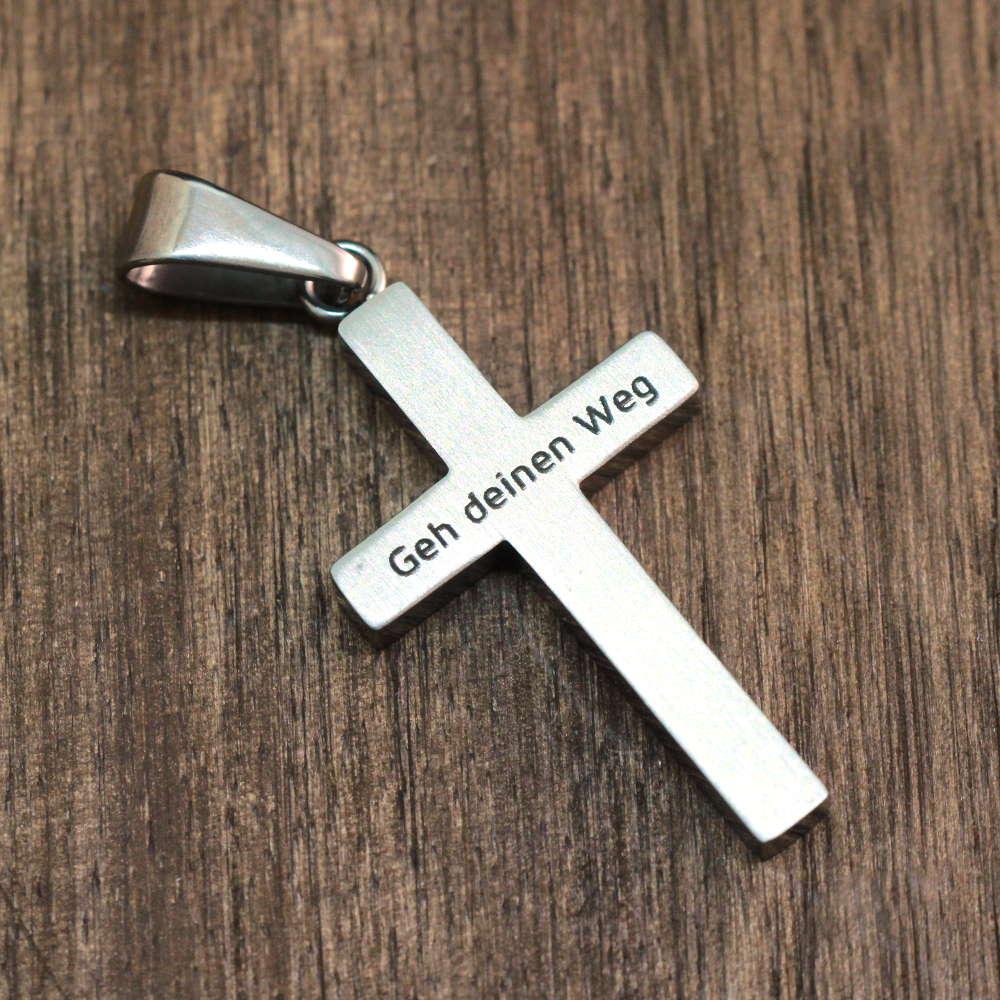 Kommunionsgeschenk Kreuzanhänger