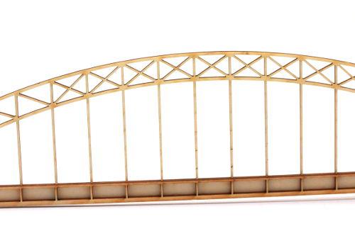 Brückenmodell aus 3mm Buchensperrholz