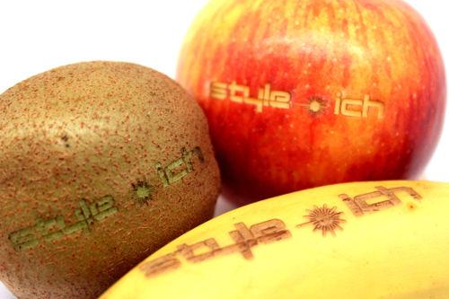 Lasergravur Apfel