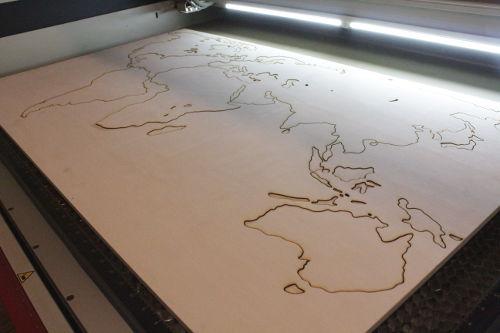 Laserschneiden in 1200 x 700 mm