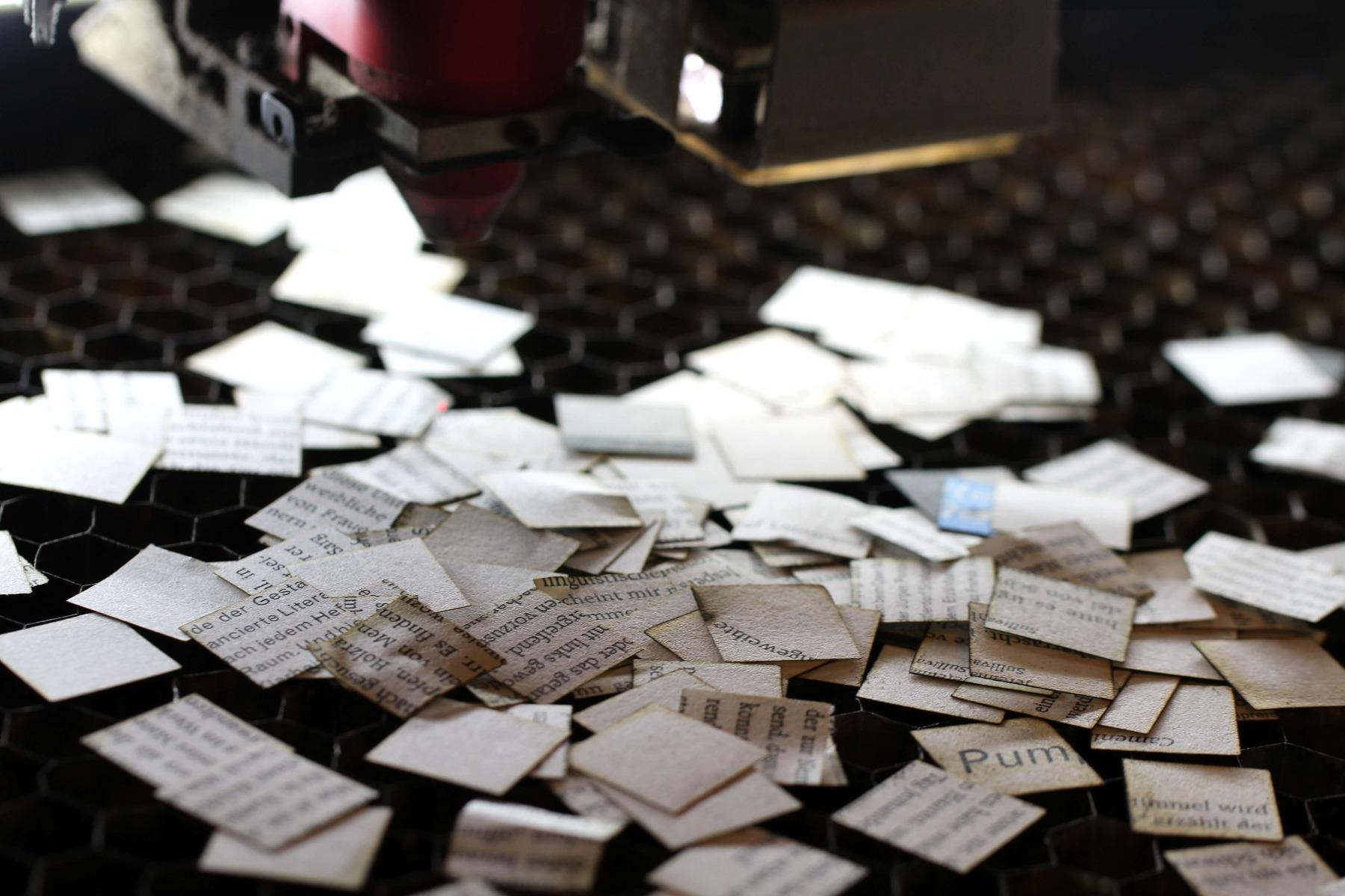 Lasergravur Papier