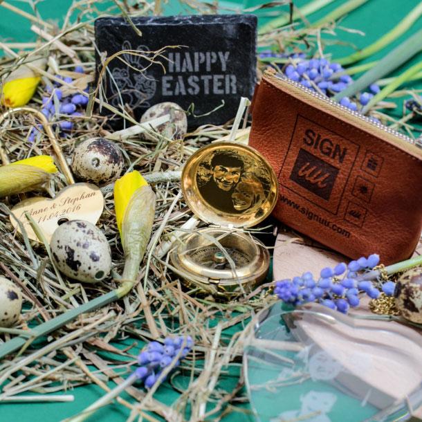 Ostergeschenke mit Gravur