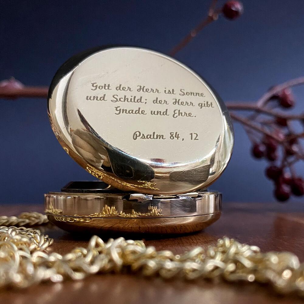 Kommunionsgeschenk kompass gravur ideen christlich