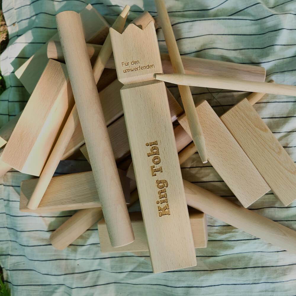 sommerliche geschenkideen Wikingerschach mit Gravur