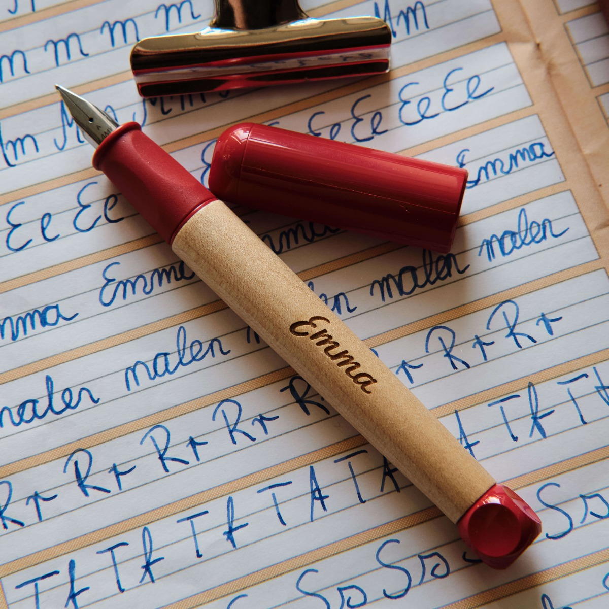 Geschenkideen zum Schulanfang Füller mit Namen