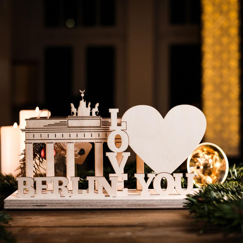 Weihnachtsgeschenke traditionell Schwibbogen Berlin