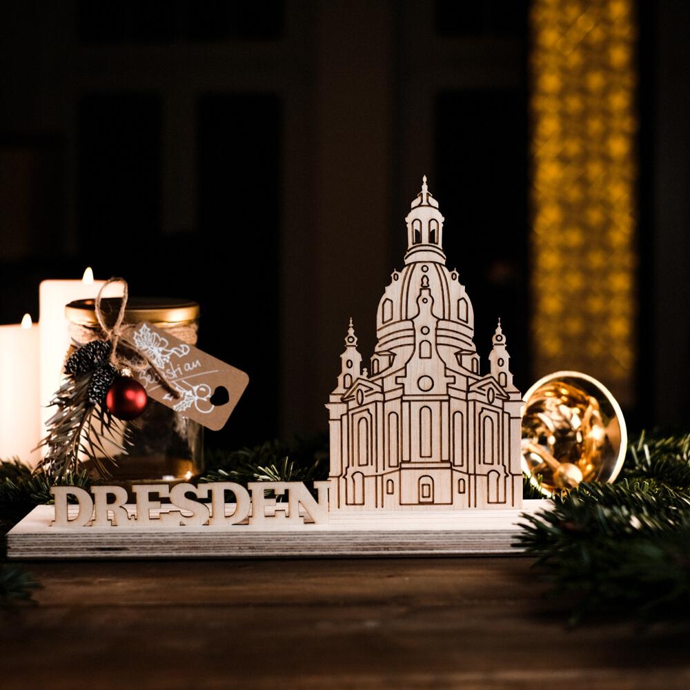 Weihnachtsgeschenke traditionell Schwibbogen Dresden