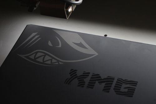 Notebook Gravur XMG Shark Gaming