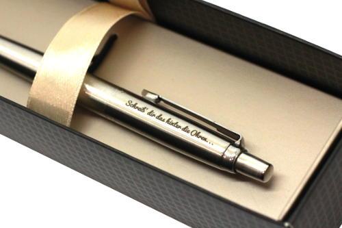 Stift mit Gravur zu Weihnachten