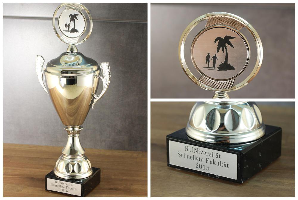 Individueller Pokal mit Gravur