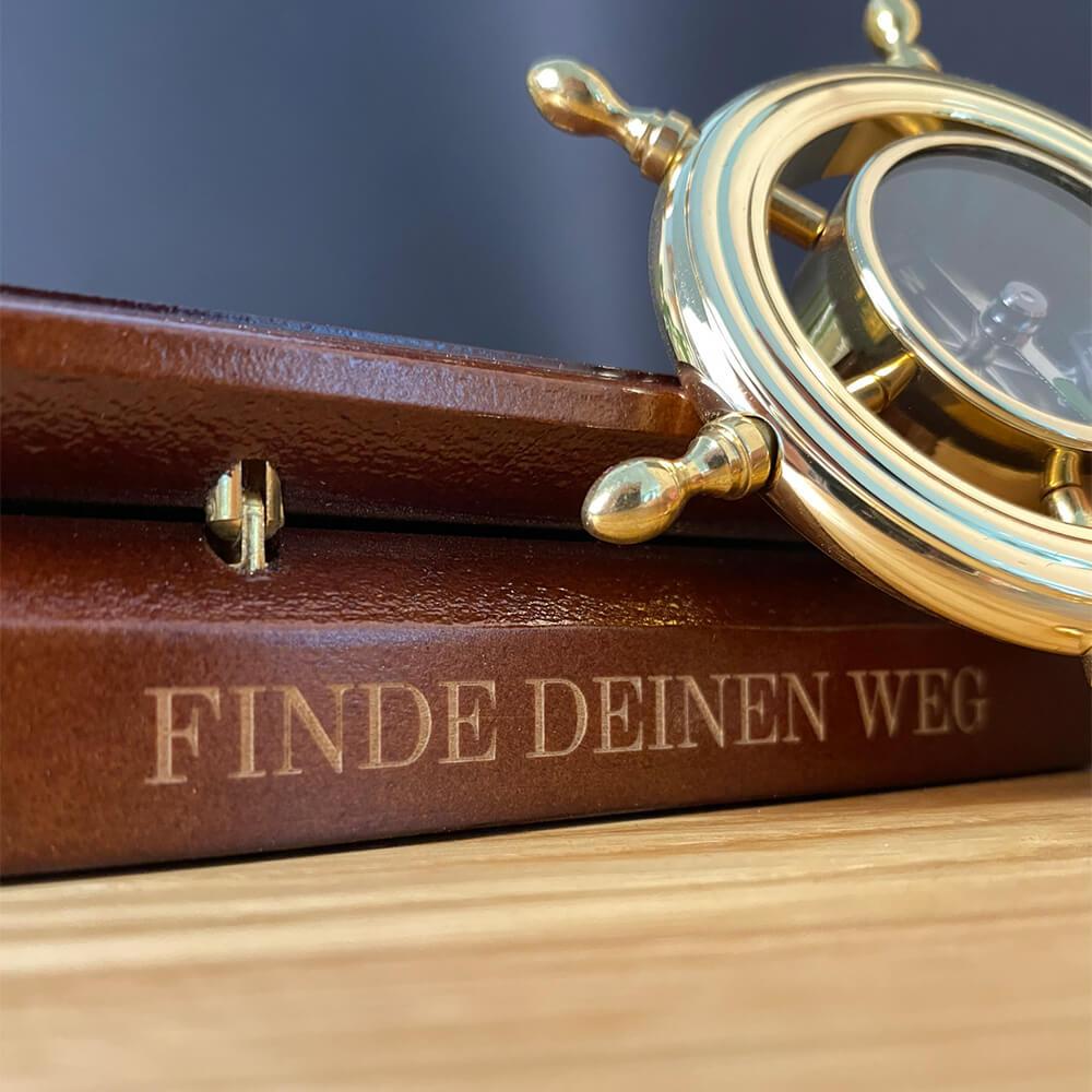 Kompass Geschenk zum Schulanfang